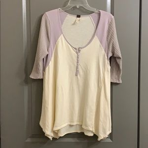 Free People top. Size M